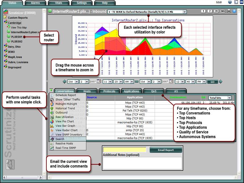 Scrutinizer - Netflow Client