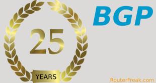 25 years BGP