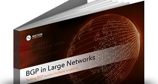 BGP in Large Networks –  [Download eBook]