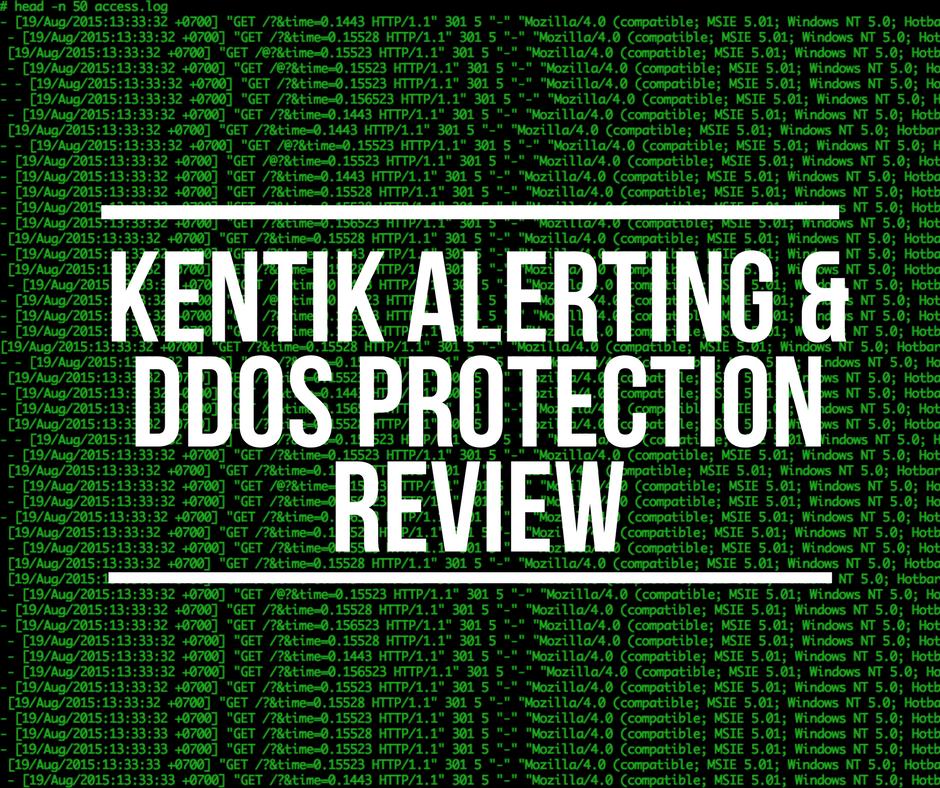 Kentik Alerting & DDoS Protection
