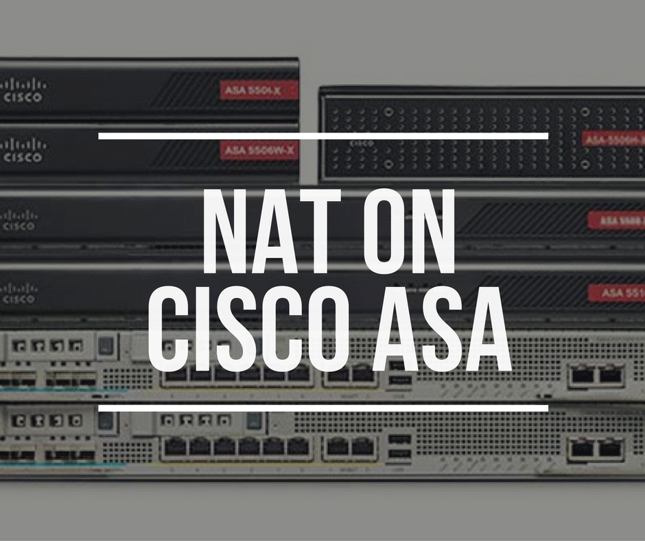 Nat On Cisco Asa With Gns3 Config Files