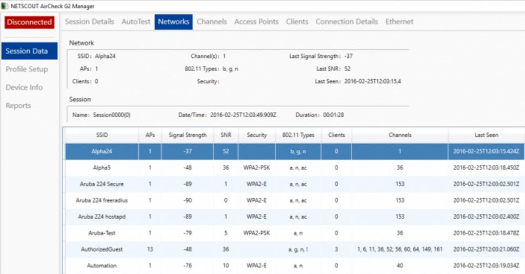 aircheck g2 manager software