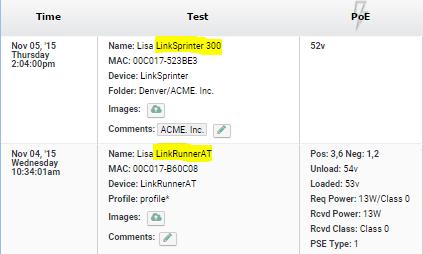 comparison netscout linkSprinter vs LinkRunner