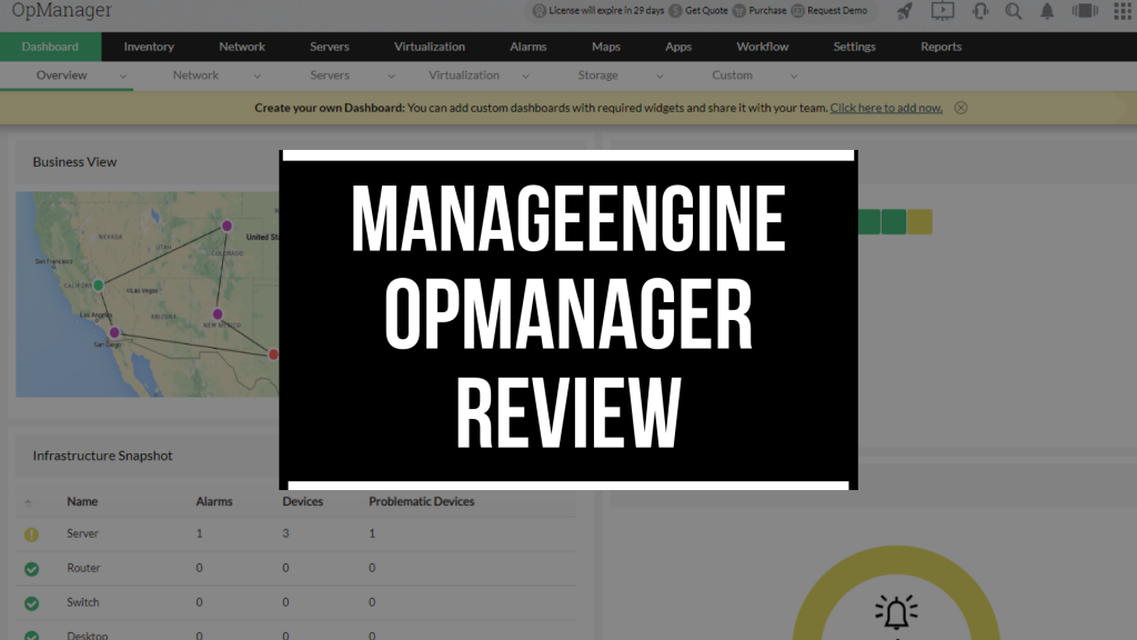 OPmanager review